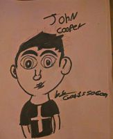 John Cooper ( not colored) by GodIsSoCool