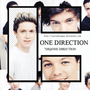 One Direction Pack PNG 003 by louisebluegay