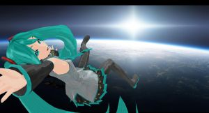 MMD - Miku Space (Unedited Ver.) by MikuHatsune01