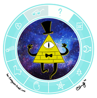 Bill Cipher (click me) by ccucco