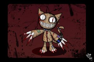 Possessed Kitty Doll by 2Dark