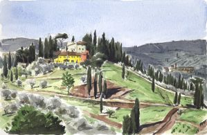 Villa in Tuscany by olivier2046