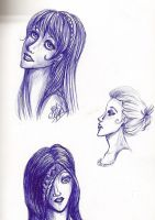Girls sketch by sferchik