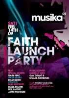 musika flyer artwork by eyedidthis