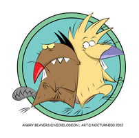 Angry Beavers by Nocturne00