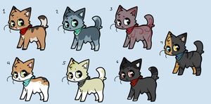 Adoptables by QTipps