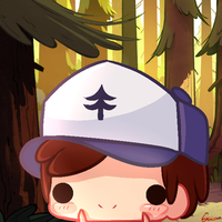 Chibi Dipper Pines by Cat-Wasnt-Here