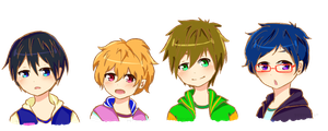 shota swimmer boys by pepperlicious