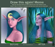 Before and After: Suki by Paine-MoonG