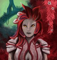 Meryse GW2 by ladindequichante