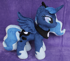 Princess Luna Plush by Noxx-ious