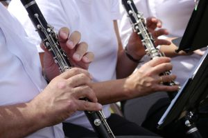 Playing Clarinets by dseomn