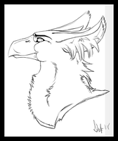 Gryphon by nightspiritwing