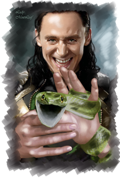 Loki - Serpent by LadyMintLeaf