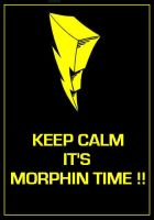 Mighty Morphin Power Rangers - Keep Calm Poster by DoctorWhoOne