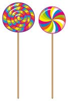 Stripy Lollipops by MichelleDinan