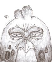 AngryBird Sketch by ChewInc