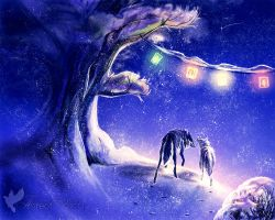 Silent night by areot