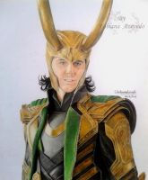 Loki - The God of Mischief by FabianaAzevedo