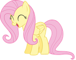 Very happy Fluttershy by thatguy1945