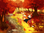 Autumn Stroll: ClimbtotheStars PC by Sno-wy