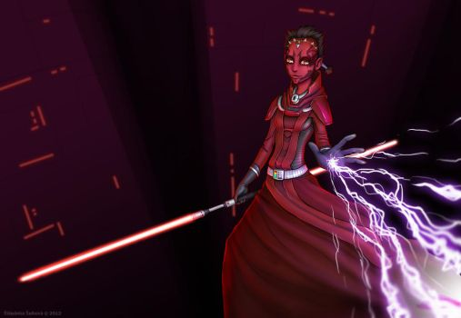 SW:TOR - The Inquisitor by Stephany-Q-Vin