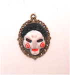 The movie the saw: handmade Billy cameo, charm by MiniSweetx