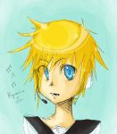 Scribble- Kagamine Len by halcyonWings