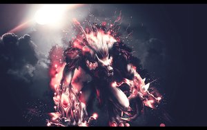 Werewolf Wallpaper by GFX-3ngine