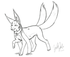 :Krosfox Sketches: Zaira by BuryTheMaid