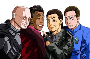 Red dwarf crew by vansolt