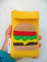 Cheeseburger DS case by manriquez