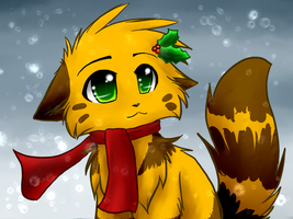 .:Christmas Spotty:. by Spottedfire-cat