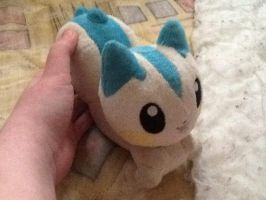 Plush Pachirisu by darnowxelemon