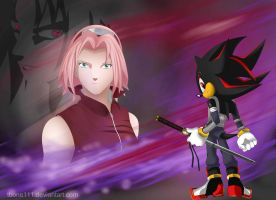 ShadXSakuXSasu background by tbone111