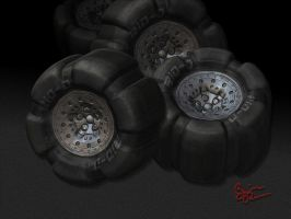 fat tires by rio3d