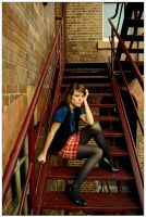 Marie - red steps 1 by wildplaces