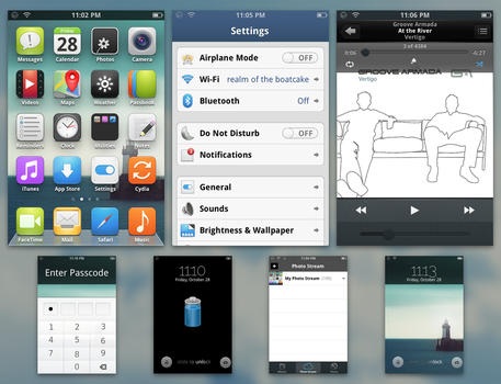 elementary iOS [iOS 6 and below] by impiaaa