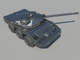 Killzone ISA Lancer Tank WIP by thefirewarriors