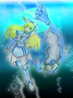 Hope and the Mermaid by CandySkitty