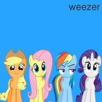 Weezer - The Blue Pony Album by Stratolicious