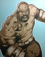 Luke Cage by Papergizmo
