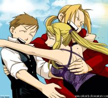 - Friends Hug : FMA 108 - by Arhatdy