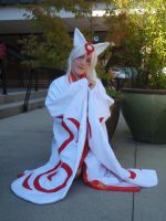 Okami Cosplay AE 2010 by ClumsyClueless