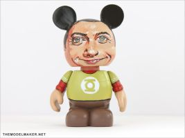 Sheldon Cooper vinylmation by artmik