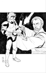 Commanders and Generals: Cody and Obi-Wan Inked by Hodges-Art