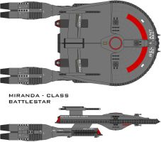 Battlestar Reliant by SciFiRocker