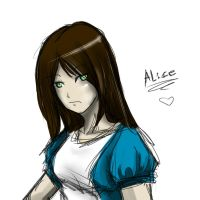 Alice sketch by ShadowXhunter