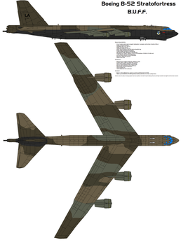 Boeing B-52 Stratofortress by bagera3005