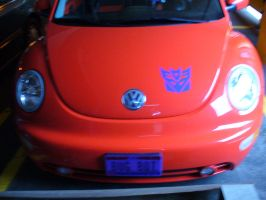 BotCon '08: Cliffjumper Car by Sol-Domino